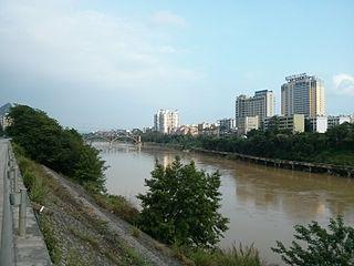 Yizhou District, Hechi District in Guangxi, Peoples Republic of China