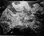 Yokosuka naval base under attack on 18 July 1945.jpg