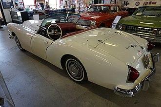 Kaiser Darrin - A 1954 Kaiser Darrin on display at the Ypsilanti Automotive Heritage Museum