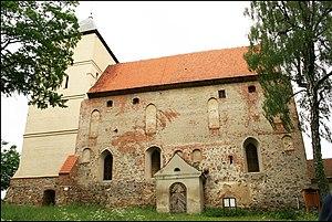 Bezławki - Church (former castle)