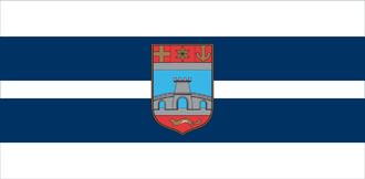 Osijek-Baranja County - Image: Zastava Osječko baranjske županije