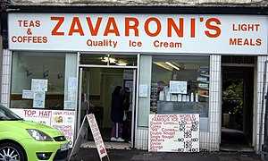 Lena Zavaroni - The family business in Rothesay, Zavaroni's Cafe