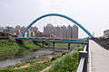 Zhongshan Freeway Xizhi Interchange Bridge, Limen Street East Side 20150430.jpg