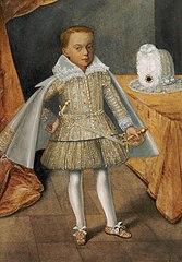 Portrait of Prince Alexander Charles Vasa.