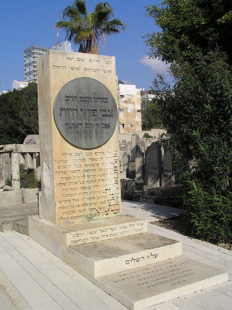 Zvi Perez Haiut tomb