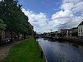 Zwolle - Overzicht langs de stadsmuur en zicht op Thorbeckegracht.jpg