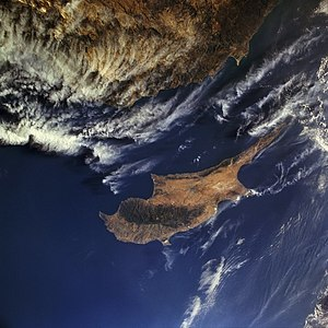 Climate of Cyprus - Cyprus from Space