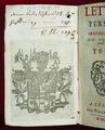 """""""Persiska brev"""" av Montesquieu - Skoklosters slott - 65104.tif"""