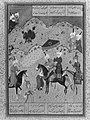"""Sultan Sanjar and the Old Woman"", Folio 17 from a Khamsa (Quintet) of Nizami MET 43903.jpg"