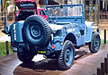""" 15 - ITALY - Jeep (Fiat) stand in Milan - Willys MB - US NAVY - Seabees corp - U.S.N. NCB 540 blue convertible 4x4 05.jpg"