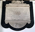 'Church of St Andrew' Greensted, Ongar, Essex England - chancel north Warren monument.JPG