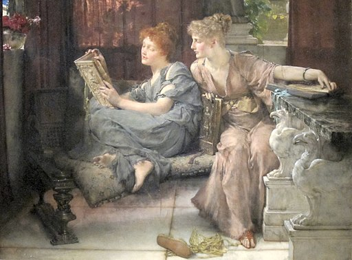 'Comparison' by Lawrence Alma-Tadema, Cincinnati Art Museum
