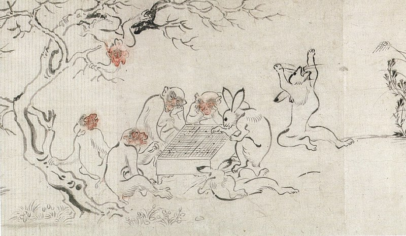 File:'Frolicking Animals' (detail), attributed to Tosa Mitsunobu Honolulu Museum of Art,.JPG