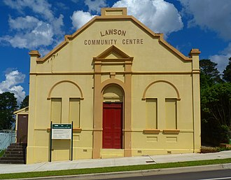 Lawson, New South Wales - Image: (1) Lawson Community Centre