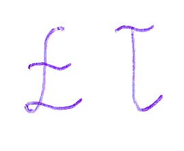 Łł-handwriting