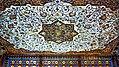 Şəki xan sarayının kiçik otağının tavan təsviri.jpg