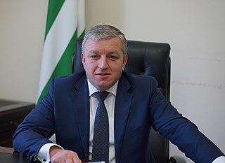 Beslan Bartsits former Prime Minister of Abkhazia