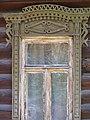Владимирская обл., Гороховец, Нагорная улица, дом 2, Шориных дом. Наличник окна на 1-м этаже.jpg