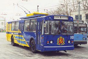 VMZ (Vologodskiy mechanical plant) - Image: Владимирский троллейбус № 161
