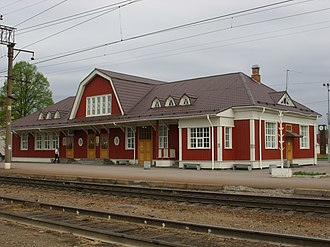 Priozersk - Priozersk railway station