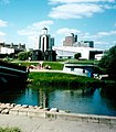 Минск, у моста через реку Свислочь (2007).jpg