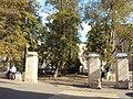 Ограда с калиткой и двумя воротами Костел 03.JPG