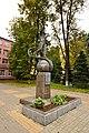 Памятник Ю.А. Гагарину на проспекте Октябрьский 4.jpg