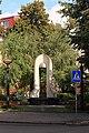 Пам'ятний знак жертвам Чорнобильської катастрофи м.Рівне.JPG