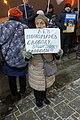Пикетчица в защиту Льва Пономарева Екатеринбург 6 декабря 2018 года.jpg