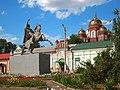 Пугачёв Памятник В. И. Чапаеву 16 августа 2017 01.jpg