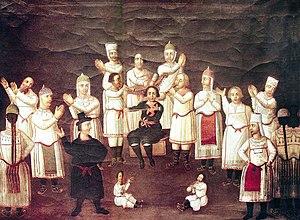 Chuvash people - Image: Чувашский праздник1