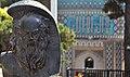 تندیس و مقبره عطار نیشابوری در یک قاب 01.jpg