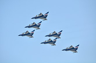Chengdu J-10 - August 1st aerobatics team