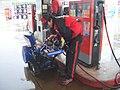 除雪機でガソリンスタンドに行ってみた。 (74025199).jpg