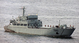 駐港部隊艦艇大隊 - 7593登陸艇.JPG