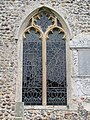-2018-11-06 Cusped tracery window on the south elevation, Saint Andrew's, Bacton.JPG