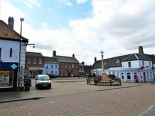 Fakenham Human settlement in England