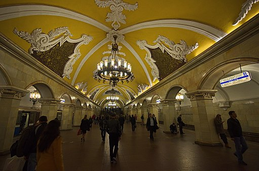 0010 - Moskau 2015 - Metrostation Komsomolskaja (26124704930)