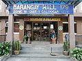 0301jfChurch San Isidro Holy Cross Halls Roads Caloocan Cityfvf 02.JPG