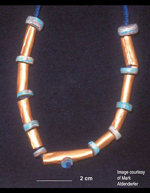 Jisk'a Iru Muqu - Gold necklace recovered from Jiskairumoko