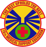 10 Medical Support Sq emblem.png