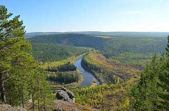 Sakha Republic - Ura River.
