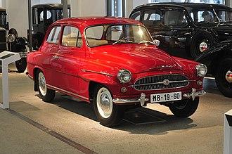 Škoda Auto - Škoda Octavia Super (1960)