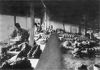 Bizen ware - Production of Bizen ware during the Taishō era