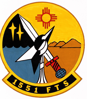 551st Special Operations Squadron - Image: 1551 Flying Training Sq emblem