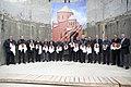 16 меценатов-хачкаворов на церемонии освящения закладных камней.jpg