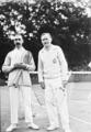 17-6-23, (de g. à d.) Blanchy, Samazeuil (i.e. Samazeuilh, vainqueurs du double hommes des championnats de France de tennis) - (photographie de presse) - (Agence Rol).png