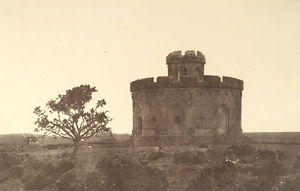 Siege of Delhi - The Flagstaff Tower, Delhi, where the British survivors of the rebellion gathered on 11 May 1857