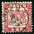 1868 Baden 3kr Engen Mi24.jpg