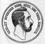 1870 Swedish 4 riksdaler obverse.png